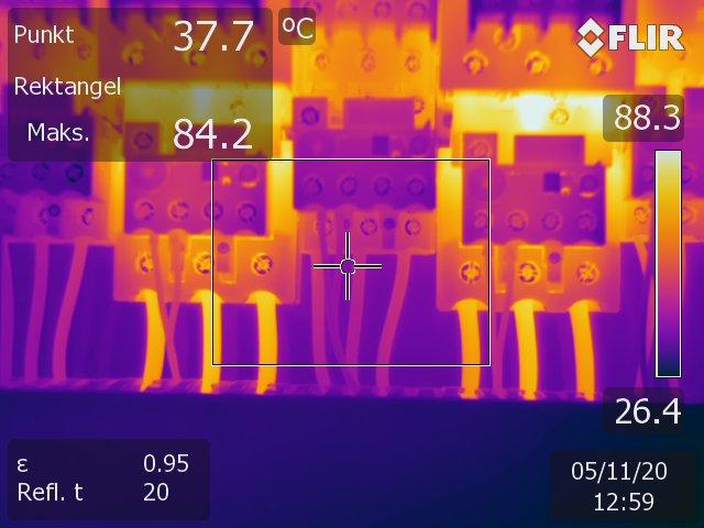 Termografering av ledninger